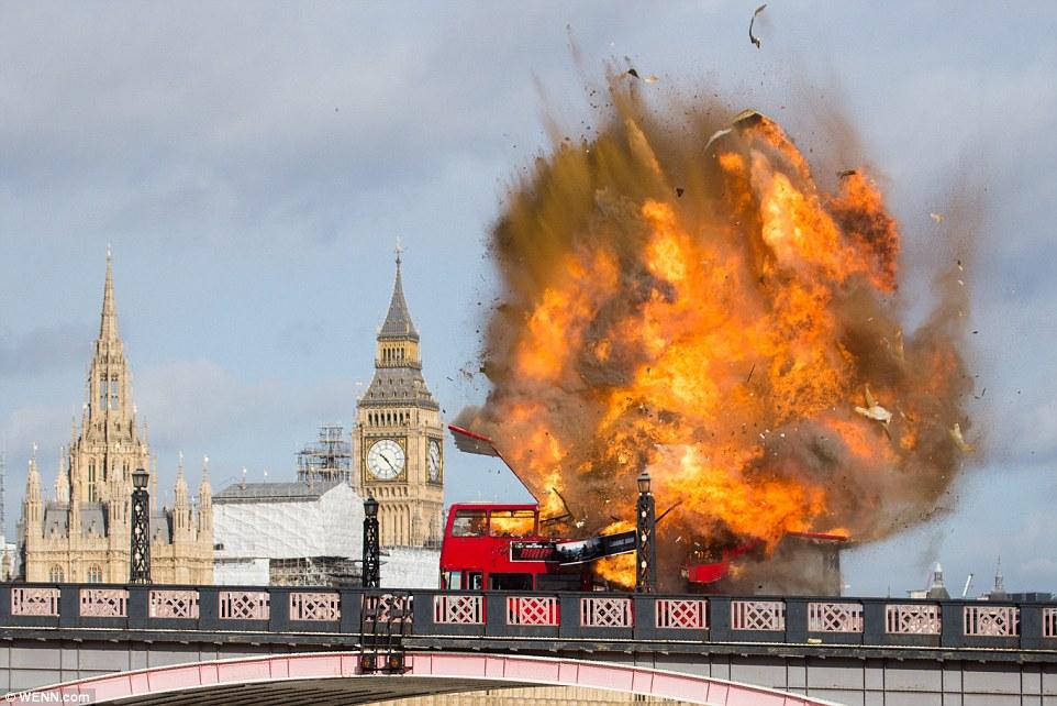 Съемки фильма с Джеки Чаном напугали лондонцев