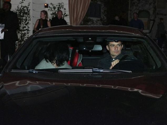 Кэти Перри и Орландо Блум выходили на рандеву (ФОТО)