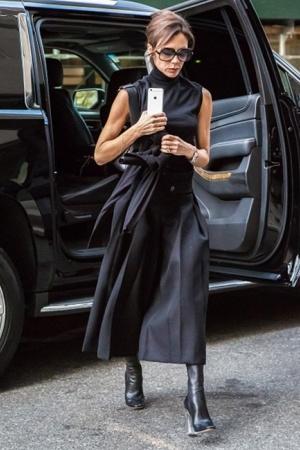 Уличный образ модницы Виктории Бекхем (ФОТО)