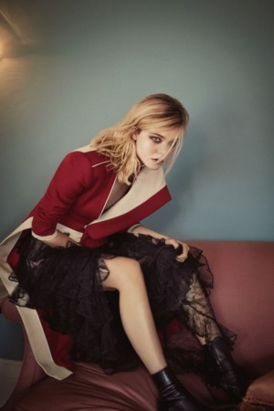 Эль Фаннинг снялась для Vogue (ФОТО)