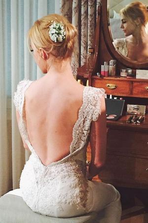 Мерьем Узерли продемонстрировала свадебное платье (ФОТО)