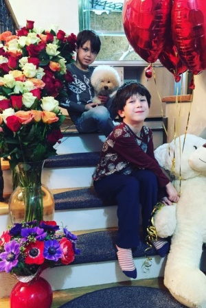 Елена Климова продемонстрировала дочерей (ФОТО)