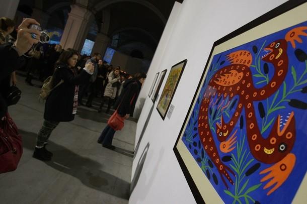 В Киеве началась выставка российской художницы Примаченко
