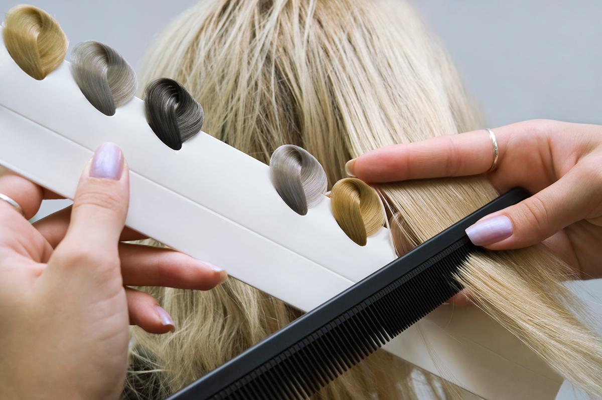 Как выбрать тень для волос