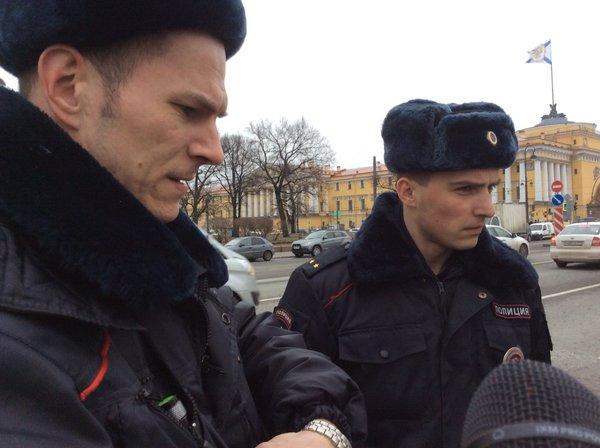 Возле Эрмитажа появилась надпись в защиту Савченко (ФОТО)