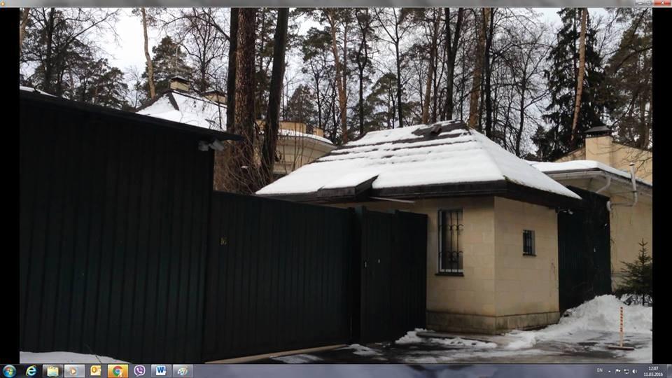 Фото: Где на Рублевке живет Азаров
