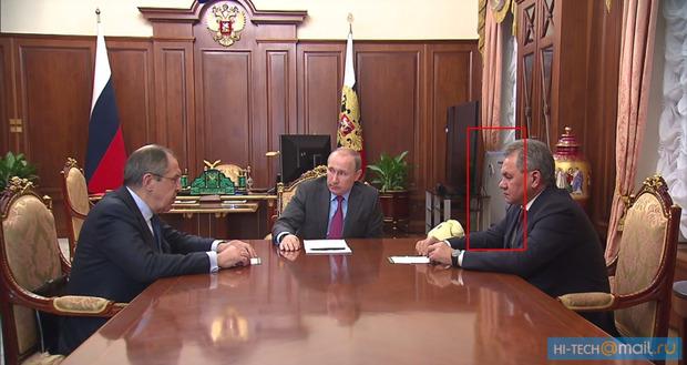 У Путина в офисе нашли облучатель (ФОТО)