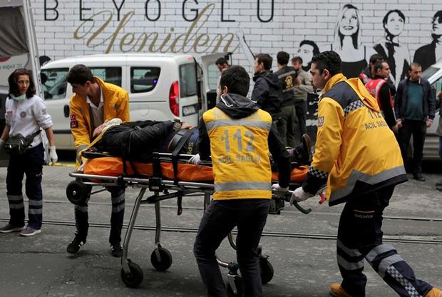 В центре Стамбула прогремел еще один взрыв (ФОТО)