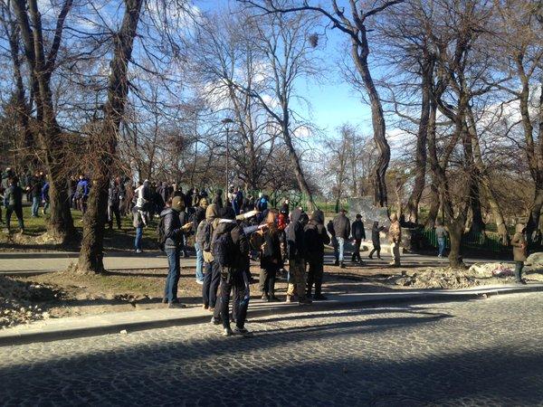Нападение на организаторов Фестиваля равенства во Львове