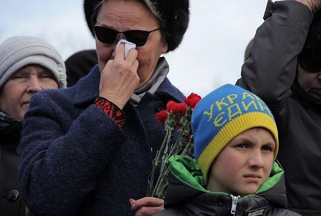 ФОТО: На Украине раскрыли первый монумент героям Иначе