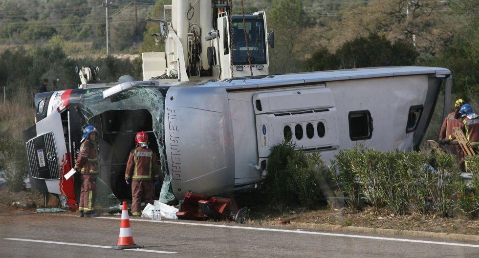В Испании разбился автобус со студентами. Пострали украинцы