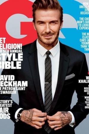 Дэвид Бекхэм впервые украсил обложку американского GQ (ФОТО)
