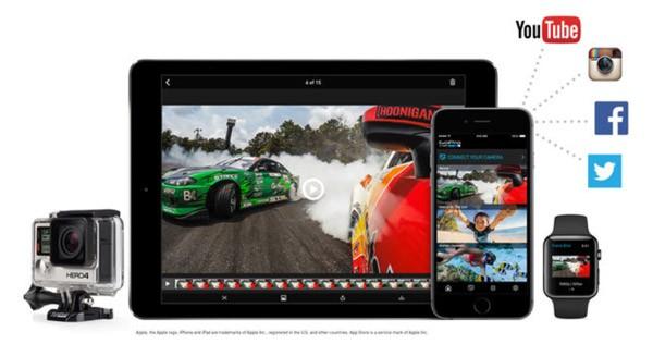 GoPro больше не дружит с Windows Phone