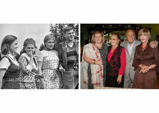 Герои культовых фильмов встретились много лет спустя (ФОТО)