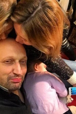 Гоша Куценко впервые показал фото младшей дочери