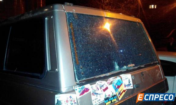 В машину Парасюку кинули гранату (ФОТО)