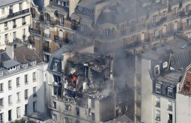 От взрыва в Париже пострадали 17 человек (ФОТО)
