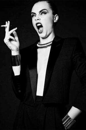 Кара Делевинь передумала прощаться с модельным бизнесом