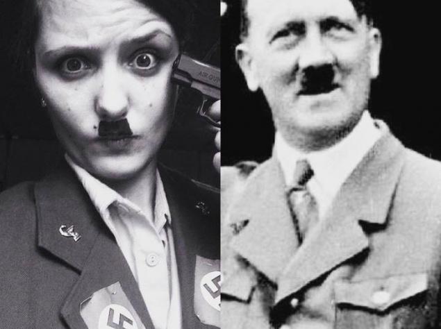 Супруга Евгения Краско надела вид Гитлера (ФОТО)