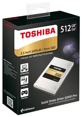 Toshiba представила внутренние SSD-накопители на 15-нм флеше