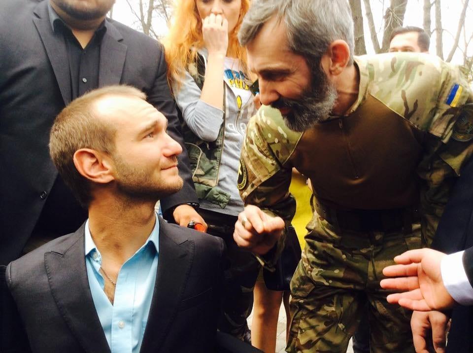 Ник Вуйчич вдохновил Киев: Буря над Украиной пройдет (ФОТО)