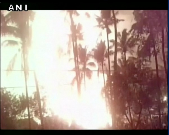Пожар в индийском храме: Более 100 человек погибли (ВИДЕО)