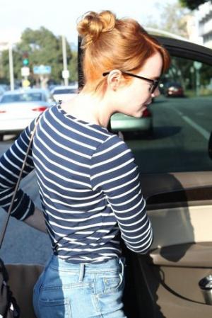 Эмма Стоун поменяла оттенок волос (ФОТО)