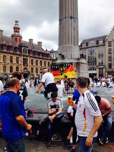 Свежие поединки! В Лилле сцепились германцы с украинцами (ФОТО)
