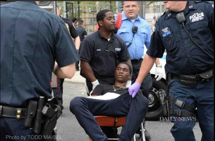 Пальба в Бруклине: Изранены 6 молодых людей (ФОТО)