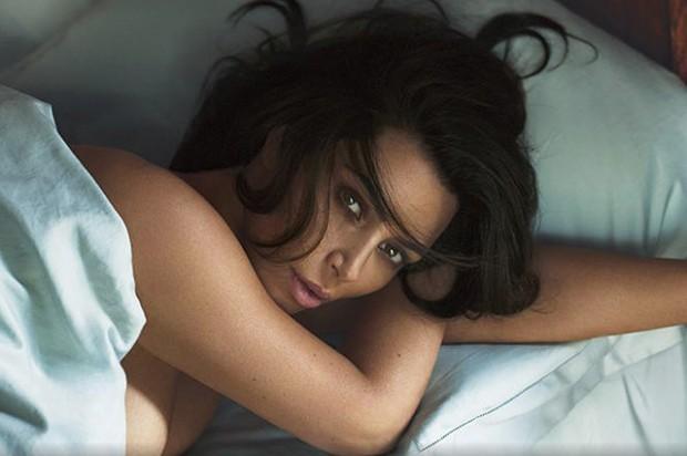 Ким Кардашьян на обложке мужского глянца (ФОТО)