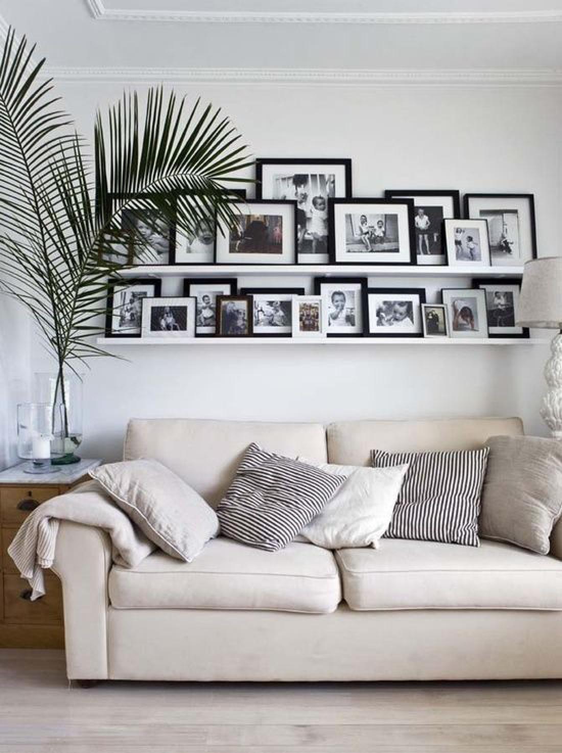 Фоторамки в дизайне: как хорошо оформить стенку (ФОТО)