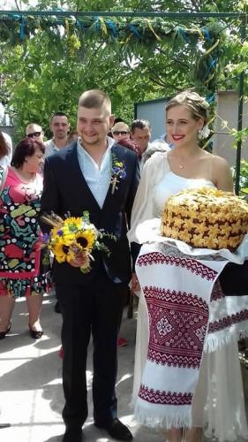 Дочь Яроша вышла замуж за воина из Иначе (ФОТО)