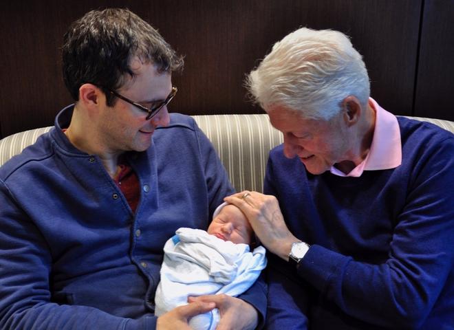 Дочь Билла Клинтона родила (ФОТО)