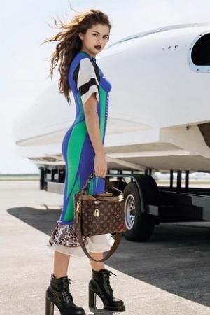 Диана Гомес снялась в рекламе Louis Vuitton (ФОТО)