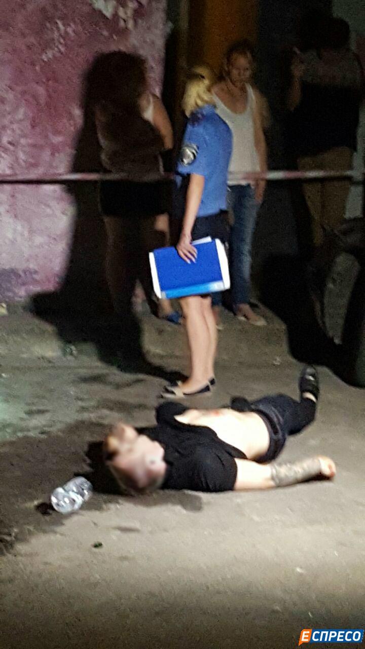 В Киеве убили парня, личность установлена. ФОТО