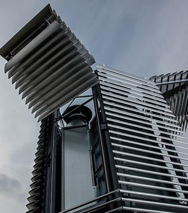 ФОТО:В Роттердаме построили башню, очистительную воздух от смога