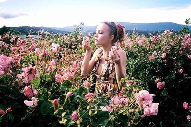 Лили-Роуз Депп на съемках рекламы Chanel No.5 (ФОТО)