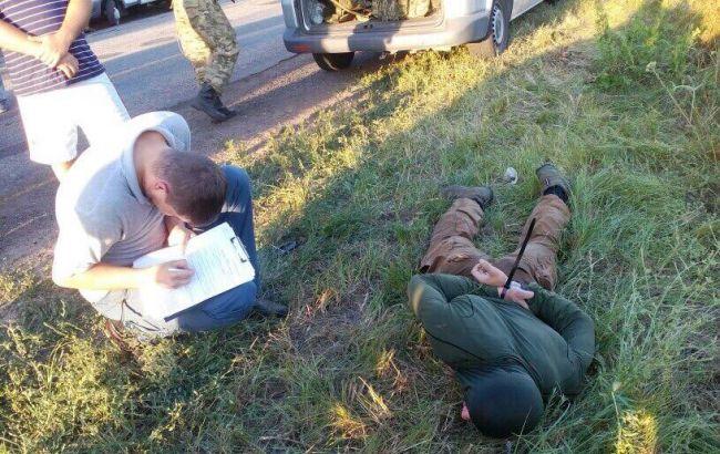 Нападение на инкассаторов: среди задержанных - бойцы Азова