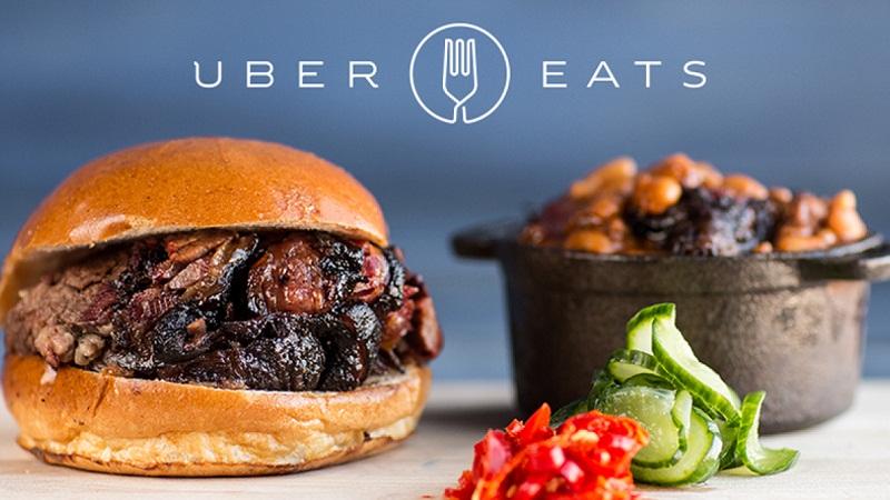 Uber запускает службу доставки еды