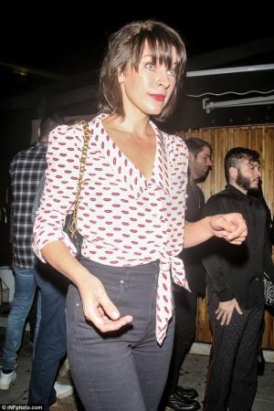 Милла Йовович посетила ночной клуб в Лос-Анджелесе