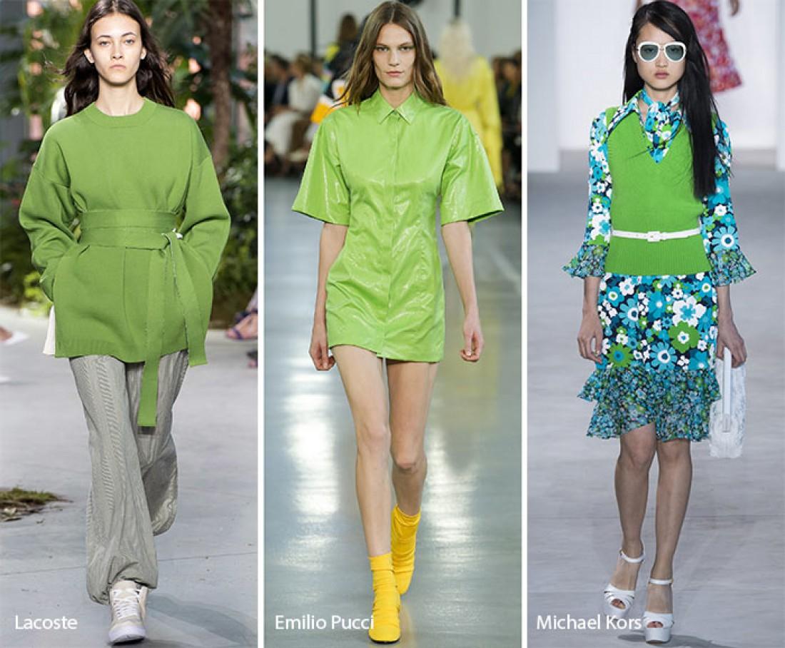 Модные цвета этой весны 2017