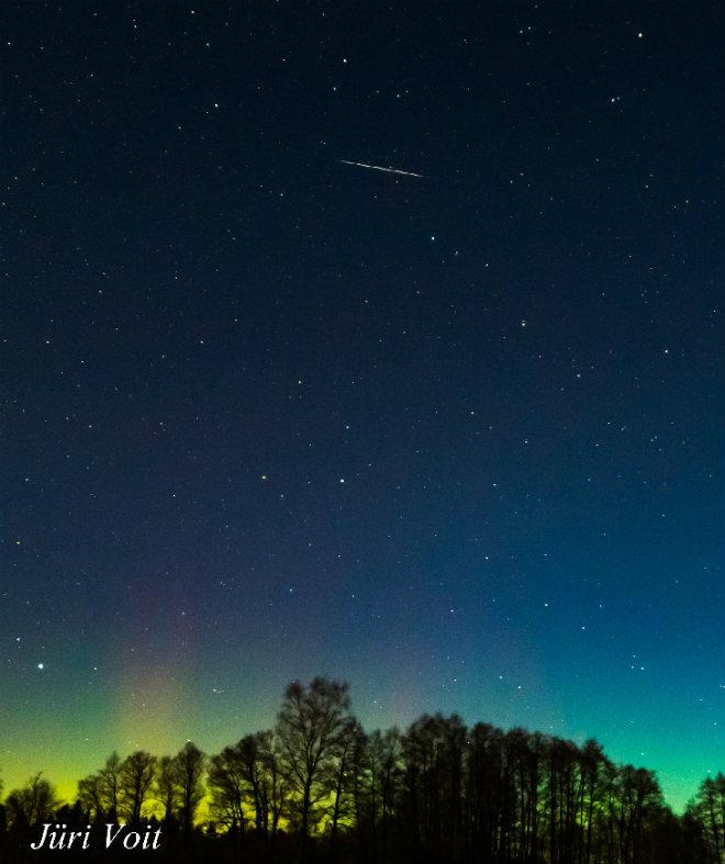 Пермяки смогут увидеть самый эффектный метеорный поток года