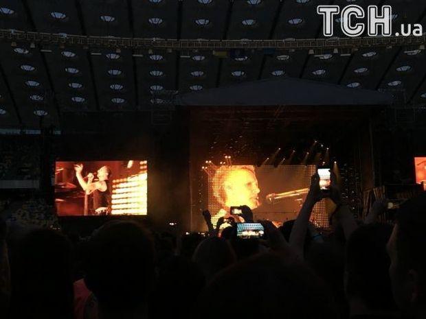 Легендарные Depeche Mode отыграли концерт в Киеве (ФОТО)