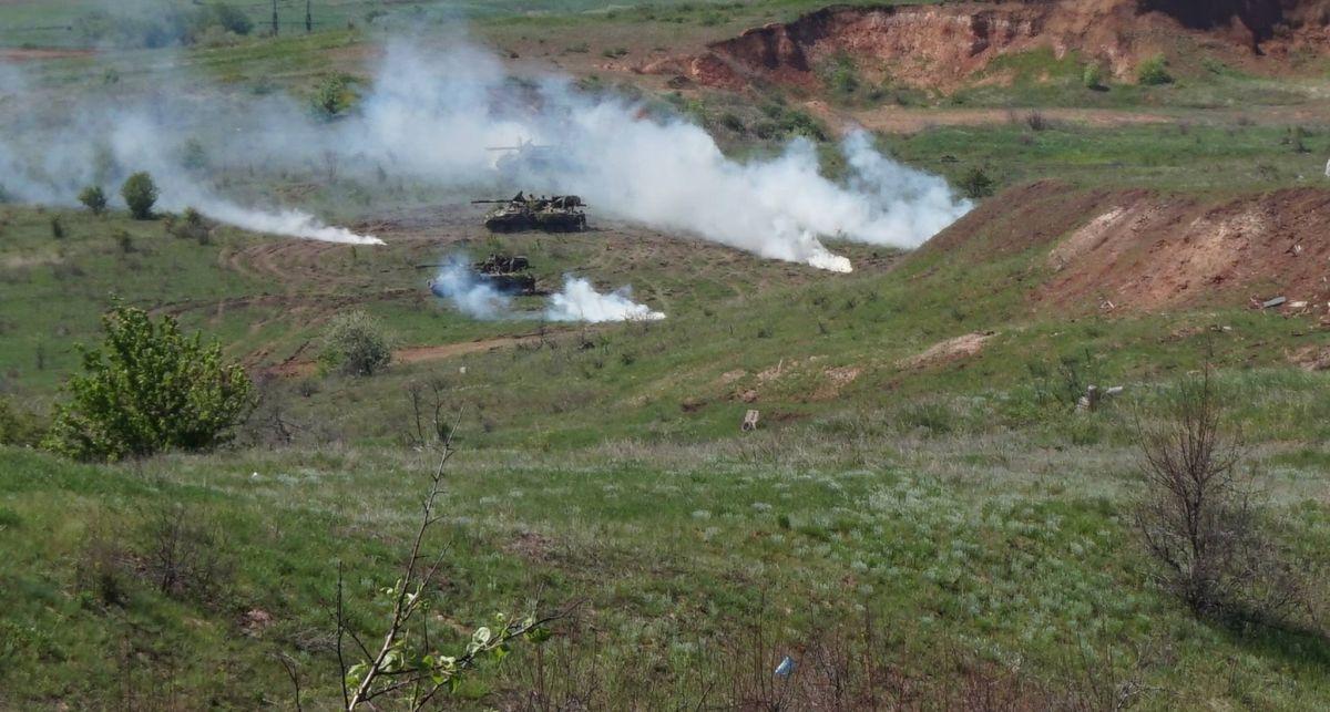 На Днепропетровщине на полигоне травмированы 8 военных