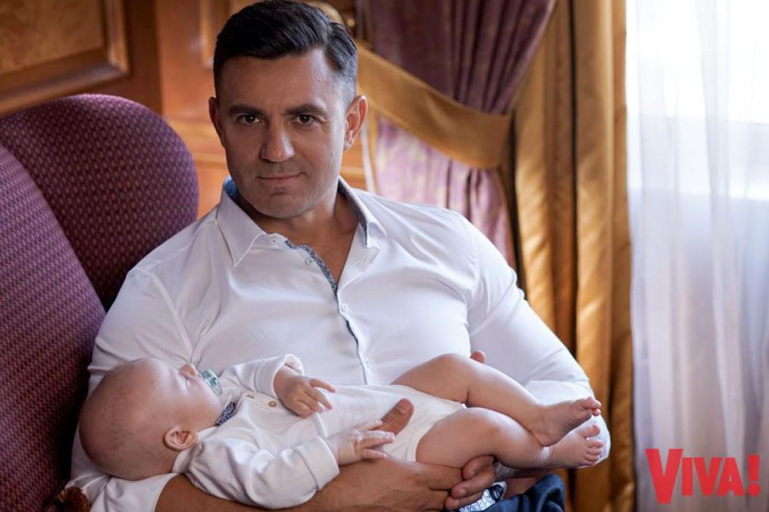 Николай Тищенко впервые показал лицо сына (ФОТО)