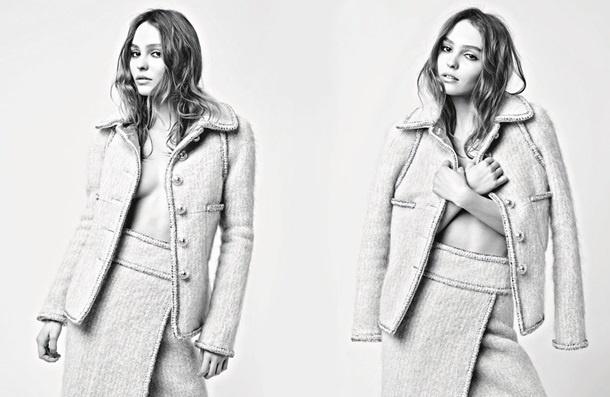 Дочь Деппа снялась в смелой фотосессии для Chanel (ФОТО)