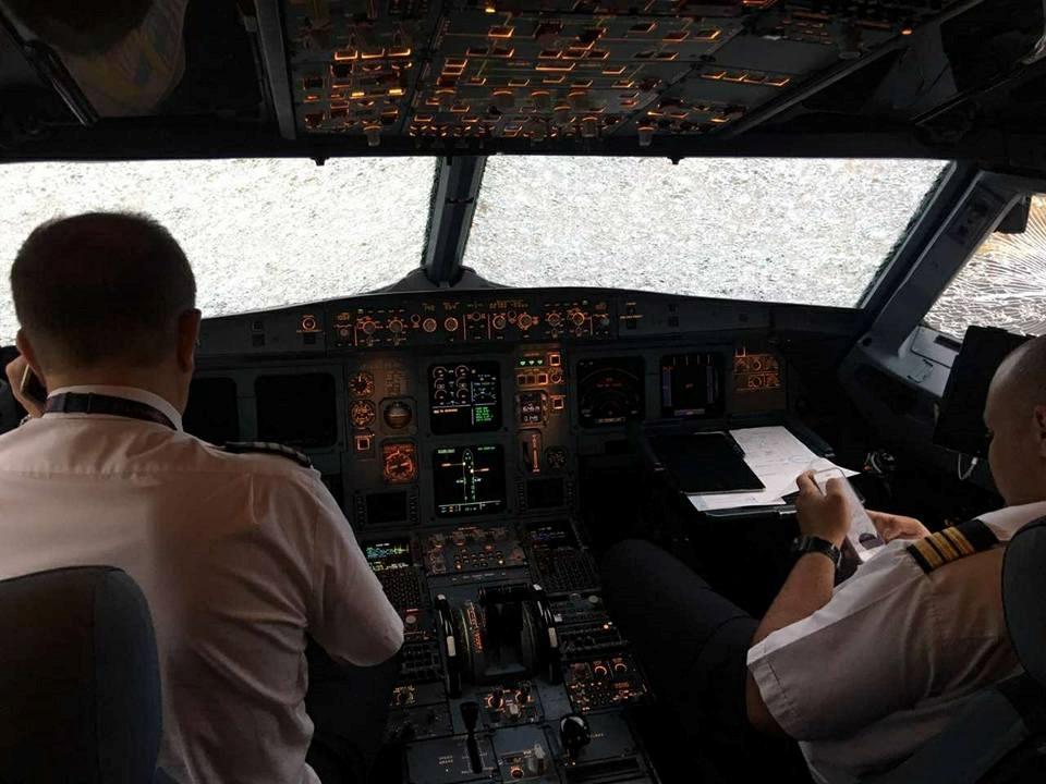 Героическая посадка самолета украинцем в Стамбуле.ФОТО+ВИДЕО