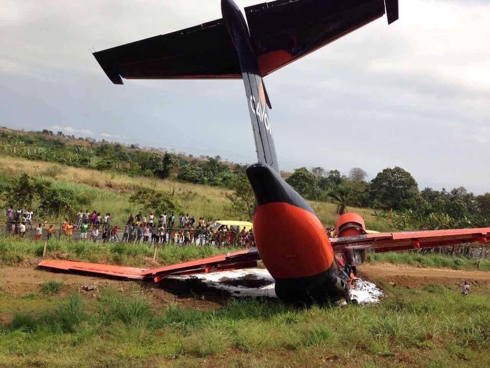 В Африке разбился украинский самолет (ФОТО)