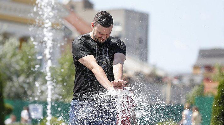 В Украине началась самая жаркая неделя лета