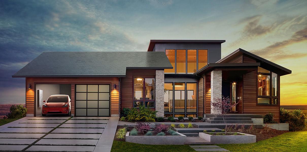 Объявлены цены на солнечные крыши от Tesla